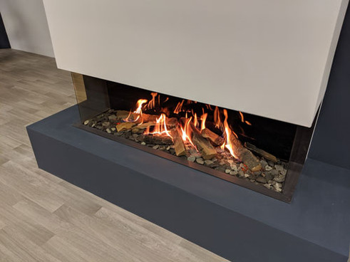 New 1400 wide Gas Logs gas fireplace