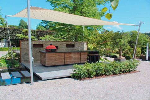 And we can provide outdoor shade!