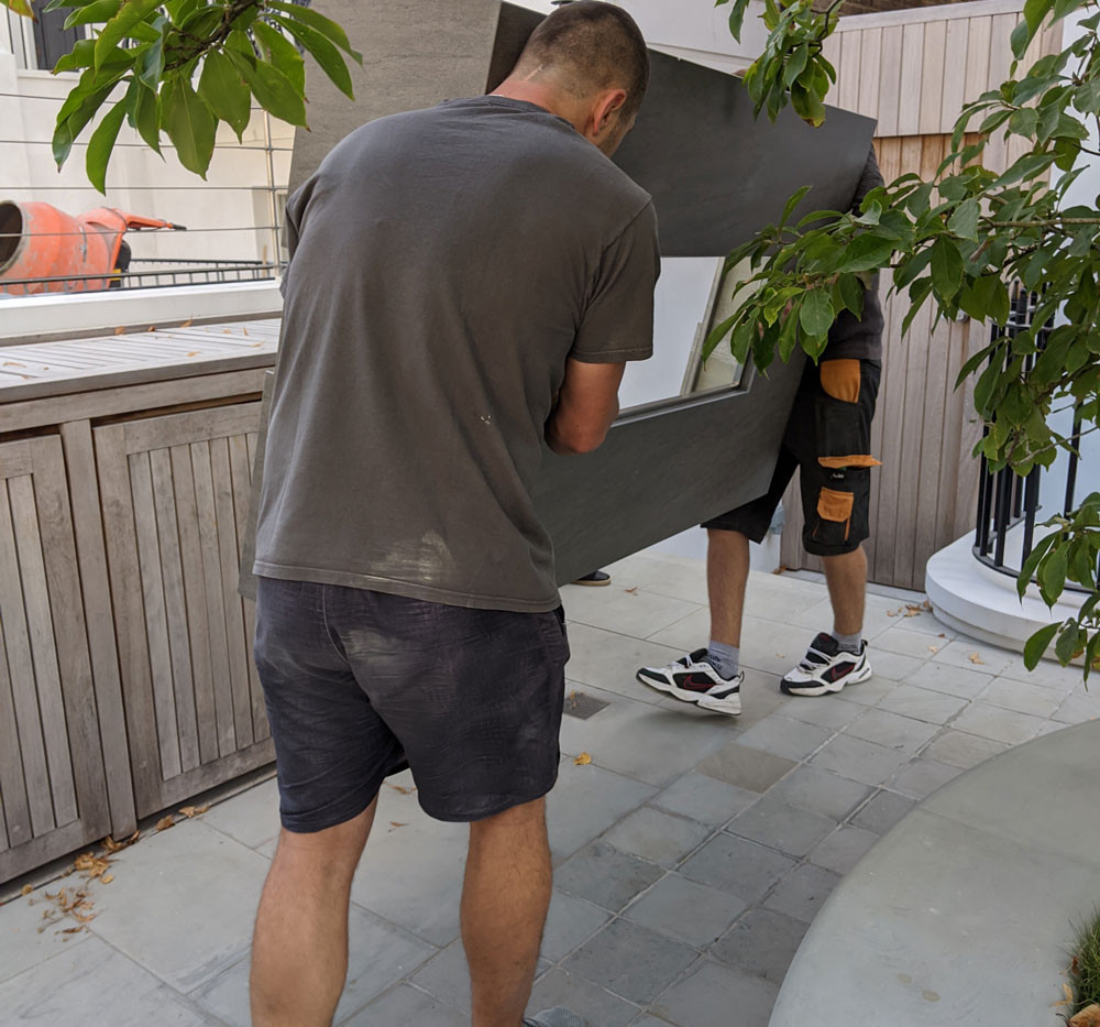 Difficult garden access? Photon delivers!