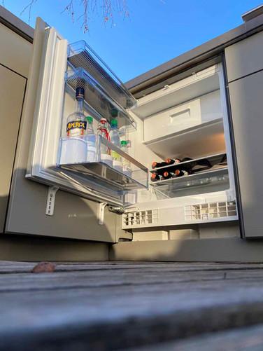 A proper fridge not a wine cooler.
