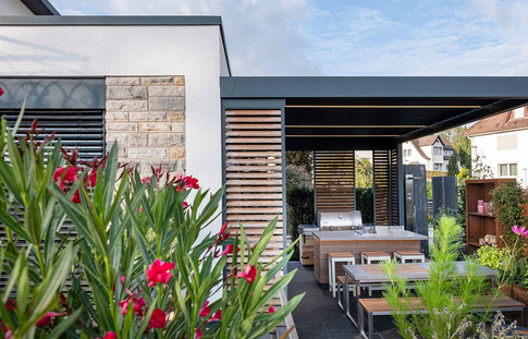 Create your own outdoor enteraining space