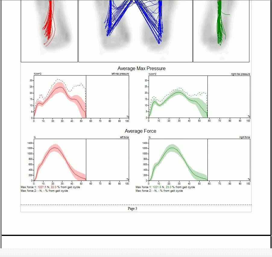 Running Analysis Report