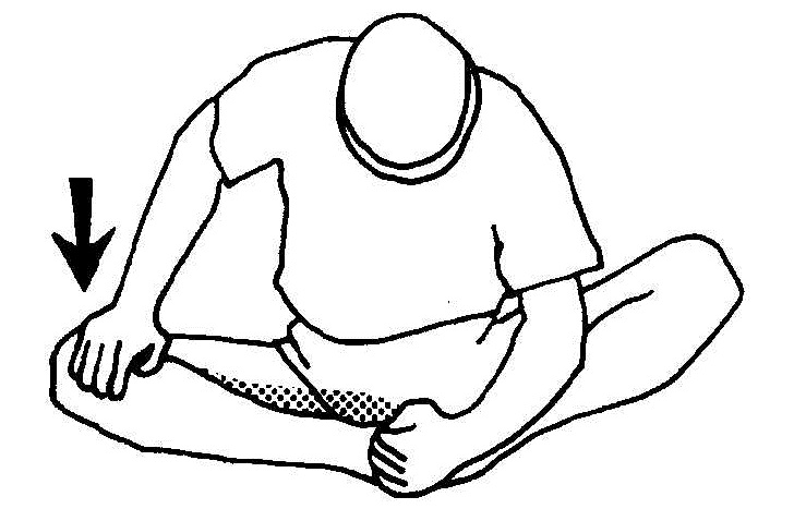 Right-Groin-Stretching