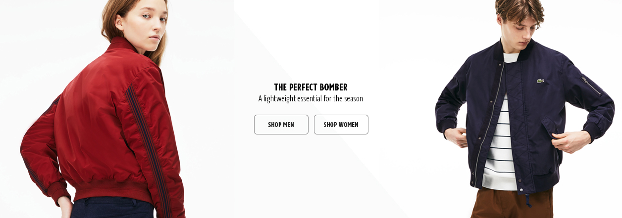 Outerwear Home Page Banner Ad