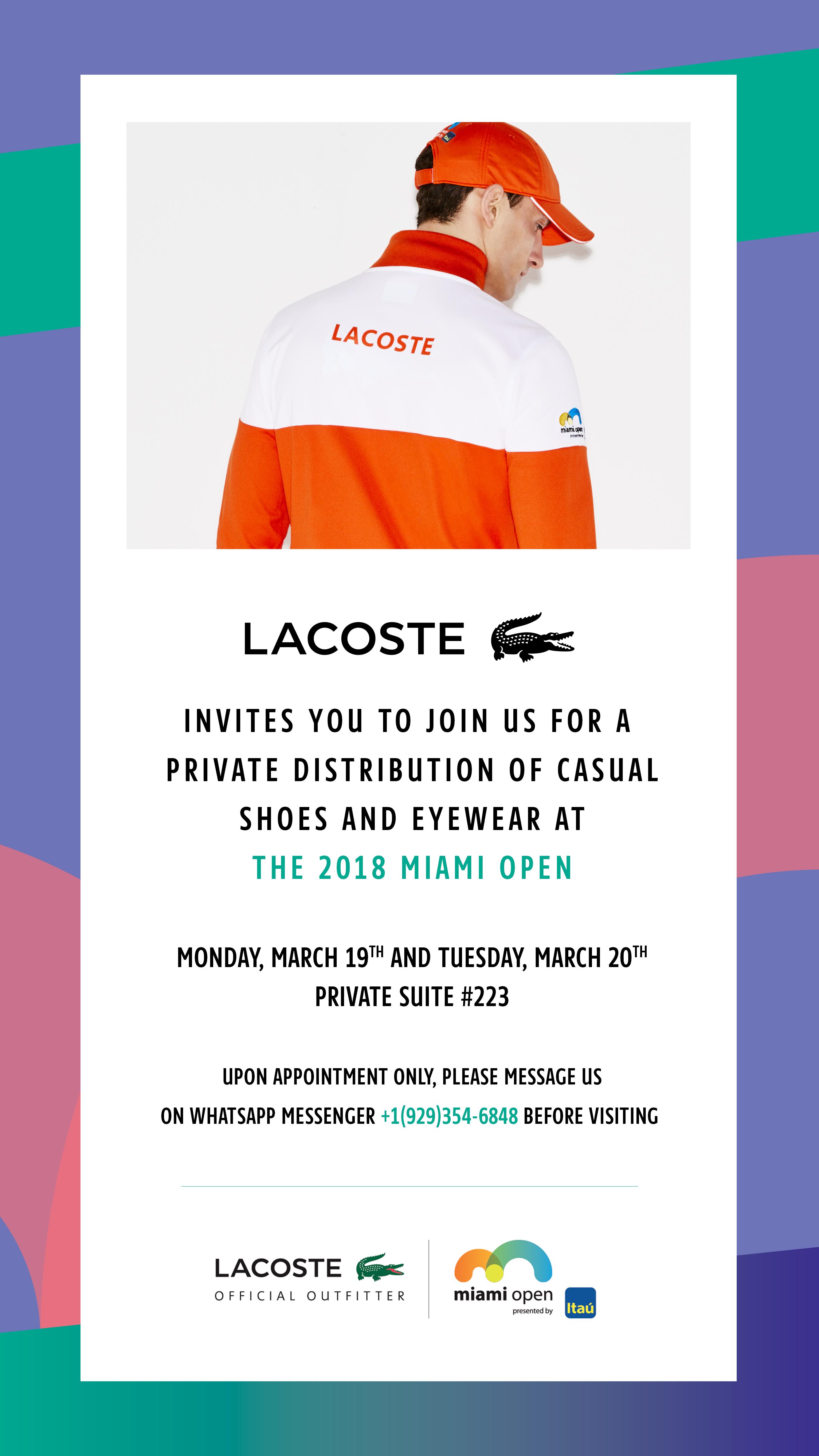 Miami Open Invite Email