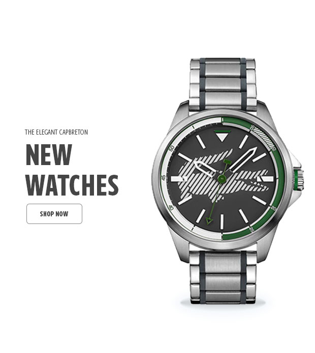 New Watches Home Page Image