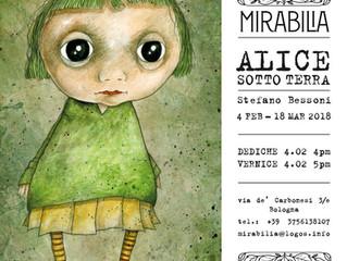 Alice Sotto Terra a Mirabilia - Bologna - dal 4 febbraio al 18 marzo 2018