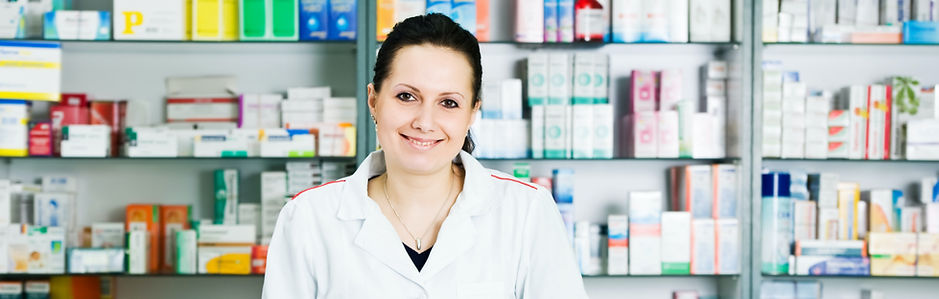 Pharmacist in a pharmacy