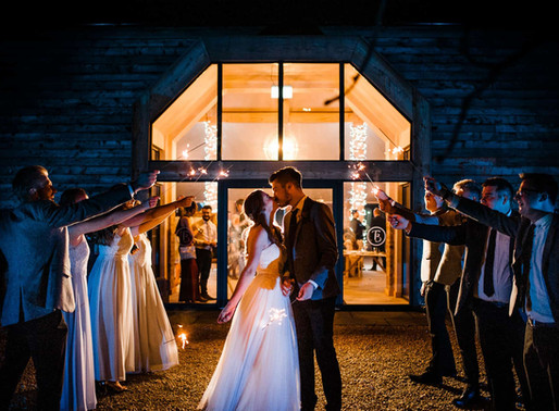 Stunning Autumn Wedding At The Barn at Willerby | India & Will's Wedding