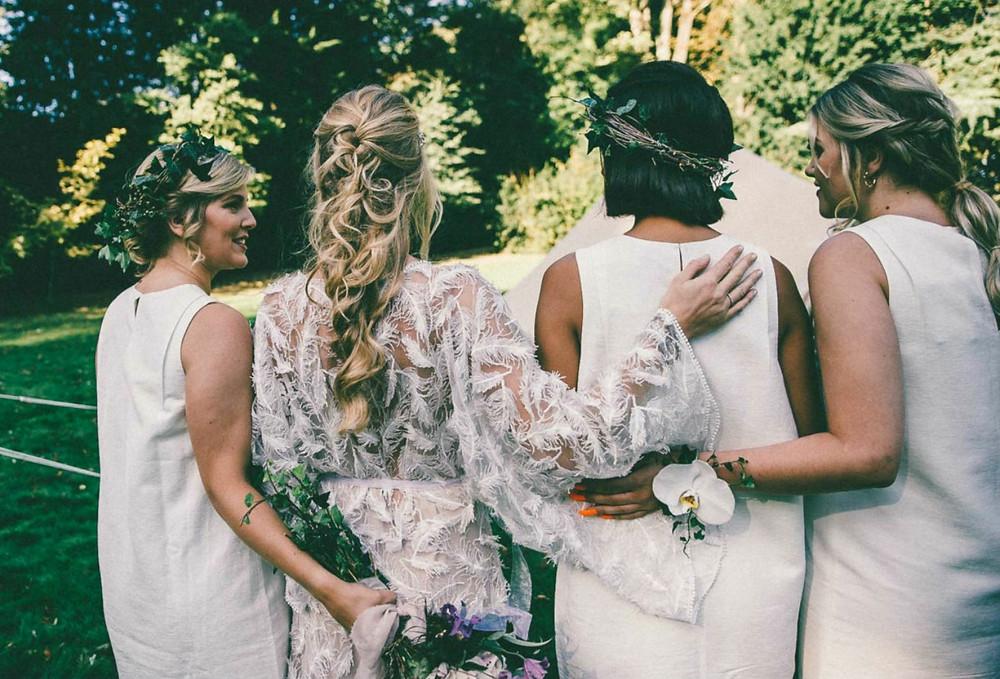 Yorkshire Wedding bridal Hair by  Briar Rose