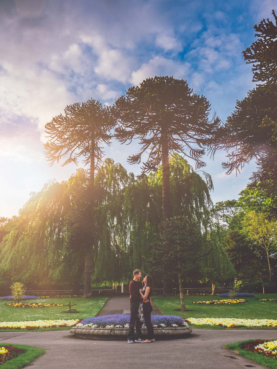Engagement Session with Gemma & Jaimie at Sewerby Hall East Yorkshire