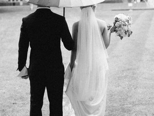 How to Avoid a Rainy Wedding Day Disaster! | Wedding Advice