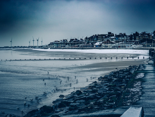A Snowy Morning In Bridlington