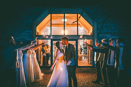 Barn at Willerby Wedding India & Will (1