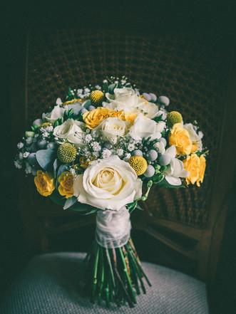 wedding bouquet for tickton grange wedding