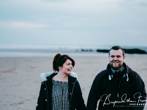 Fraisthorpe Beach Engagement Shoot | Michelle & David
