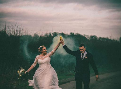 Winter Barn at Willerby Wedding Sneak Look | David & Lizzie's Wedding