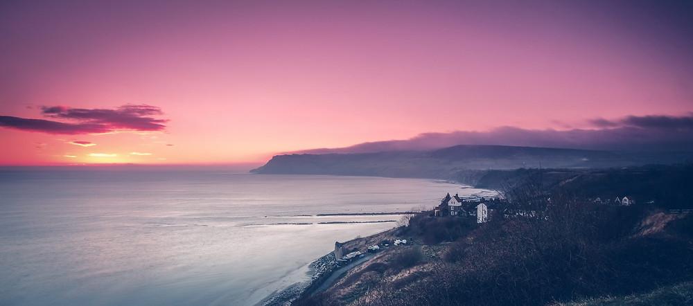Robin Hood's Bay Sunrise - Landscape Photography