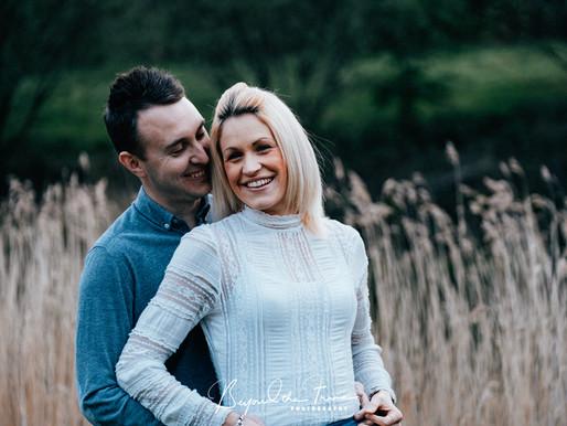 An Oaklands Engagement Session | Hannah & Danny