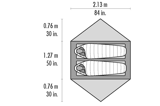 Tente MSR Hubba Hubba