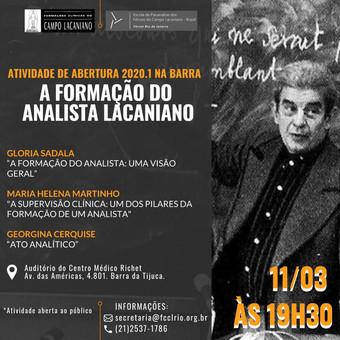Abertura das atividades na Barra da Tijuca :: 11 de março às 19h30
