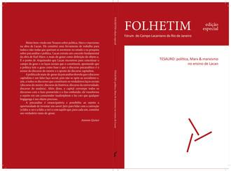 Edição especial de Folhetim :: TESAURO: política, Marx & marxismo no ensino de Lacan