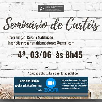 Seminário de Cartéis :: Quarta-feira, 03 de junho, às 8h45 - Transmissão online