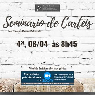 Seminário de Cartéis :: Quarta-feira, 08 de abril, às 8h45 - Transmissão online