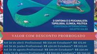 XXI Encontro Nacional da Escola de  Psicanálise dos Fóruns do Campo Lacaniano (EPFCL-BRASIL)