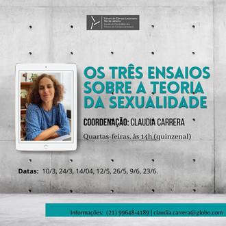 Os três ensaios sobre a teoria da sexualidade :: Quartas-feiras, às 14h (quizenalmente)
