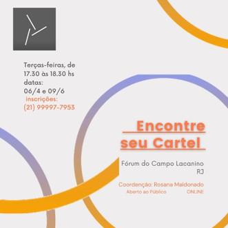 Encontre seu Cartel :: Terças-feiras, de 17h:30 às 18h:30