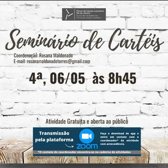 Seminário de Cartéis :: Quarta-feira, 06 de maio, às 8h45 - Transmissão online