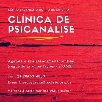 Clínica de psicanálise
