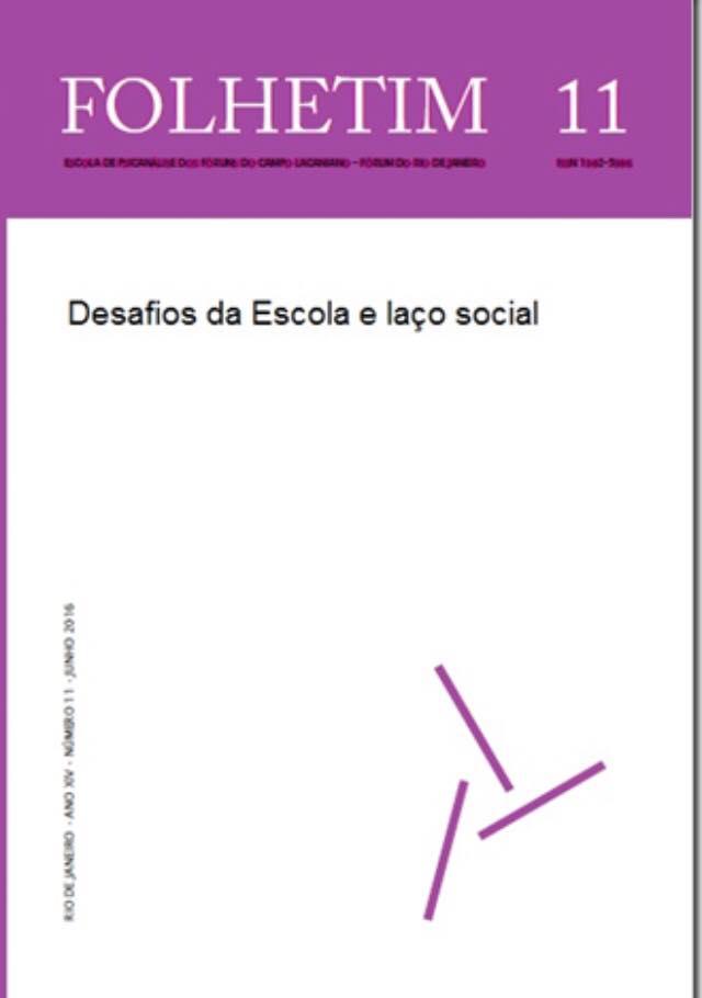 Desafios da Escola e laço social