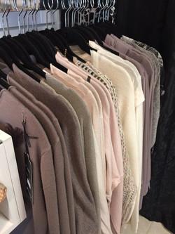 Vêtements d'importations