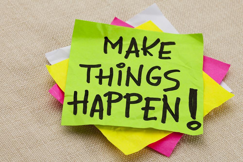אימון אישי נועד לתת כלי ניהול והתנהלות אישיים למתאמן באמצעותם יגשים את מטרותיו