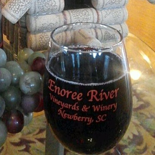 Set of 12 ERW Stemless Tasting Wine Glasses