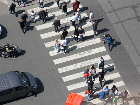 Where to be seen this summer? The crosswalk!