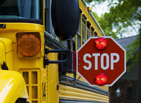 Think before you blow past that school bus.