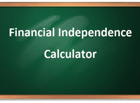 Financial Independence calculator