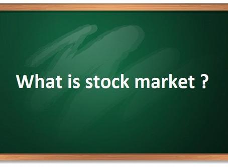 शेयर बाजार क्या है – what is stock market ?