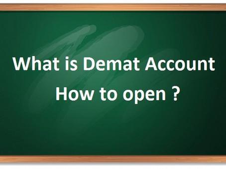 What is a demat account and How to open-डीमैट अकाउंट क्या है! और कैसे खुलवाए!