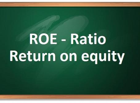 (ROE) ratio – return on equity