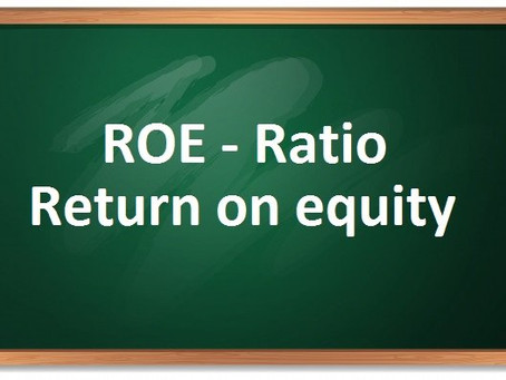 (ROE) ratio – return on equity