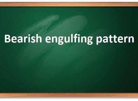 Bearish engulfing pattern