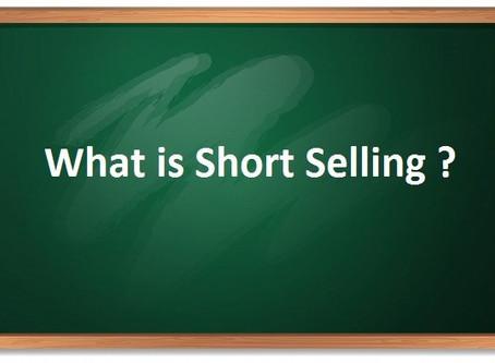 WHAT IS SHORT SELLING-शार्ट सेल्लिंग क्या है?