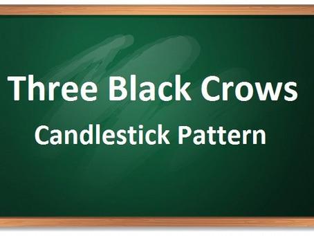 Three black crows candlestick pattern – थ्री ब्लैक क्रोव्स कैंडलस्टिक पैटर्न क्या है ?