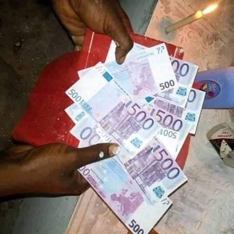 Vrai portefeuille magique vaudou qui produit en euro, véritable bedou magique vaudou