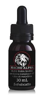 Óleo Para Barba Macho Alpha 30 mL