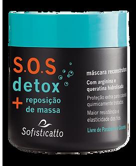 S.O.S Detox Máscara Capilar 500 g